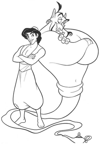 genie-and-aladdin-coloring-page_0