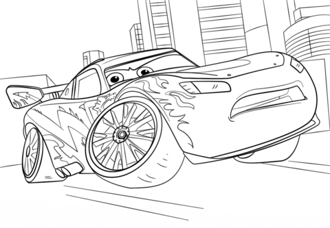 lightning-mcqueen-from-cars-3-coloring-page
