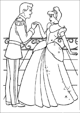 the-prince-likes-cinderella-coloring-page